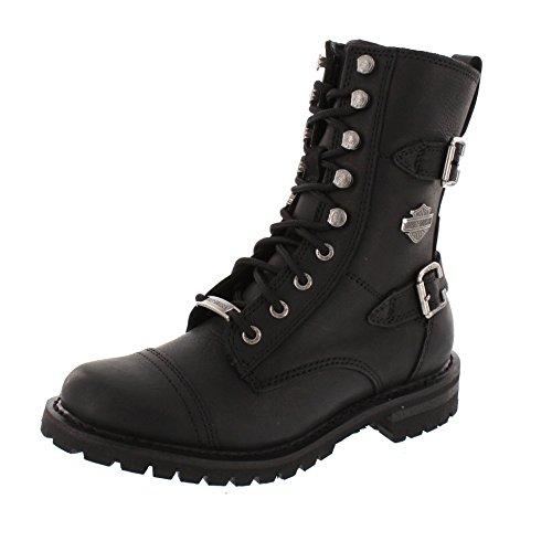 HARLEY DAVIDSON Damenschuhe - Stiefel BALSA - black, Größe:39 (Damen Harley Stiefel)