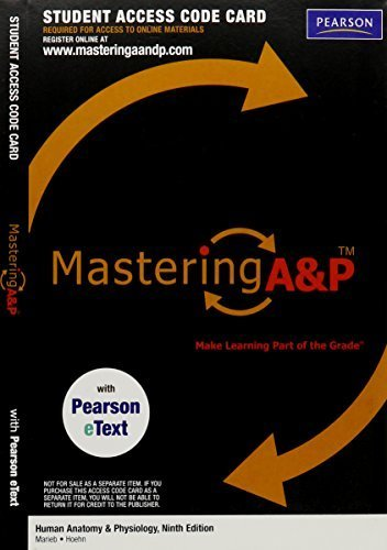 MasteringA&P with Pearson EText - Valuepack Access Card - for Human Anatomy & Physiology (ME Component) by Elaine N. Marieb (2011-12-09)
