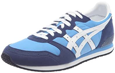 Onitsuka Tiger Saiko Runner, Baskets mode mixte adulte - BlEUciel/blanc,  42 EU