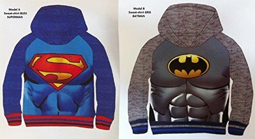 Sudadera Batman Superman DC surtido