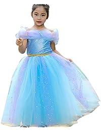 daf69c99d Disfraz de Cenicienta de Princesa Bella Aurora para niñas pequeñas