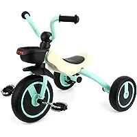 GOSFUN Triciclo con Función Plegable para Niños de 2 - 5 Años, Triciclo Evolutivo,