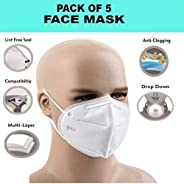 ARNV Anti-Pollution N95 Face Mask (Pack of 5)
