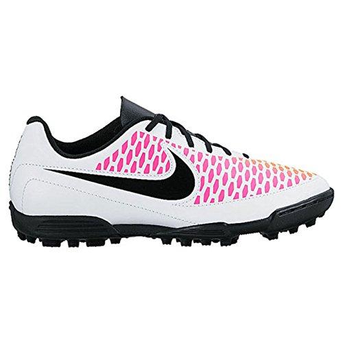 Nike - Jr Magista Ola Tf, Scarpe da calcio Unisex – Bimbi 0-24 Blanc Cassé - Blanco (White / Black-Pink Blast-Volt)
