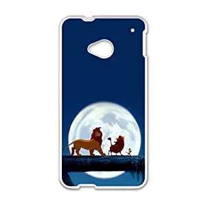 Cartoon Disney Lion Cute White HTC M7 case
