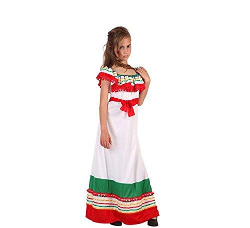 Atosa Disfraz de Mejicana para niñas