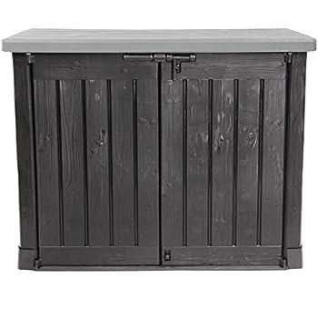 Ondis24 Keter Max Gartenbox Möbelbox Mülltonnenbox Gerätebox ...