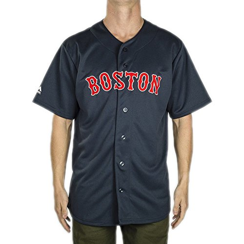newest 4e484 56c07 Camisa Majestic: MLB Replica Jersey Boston NV XS