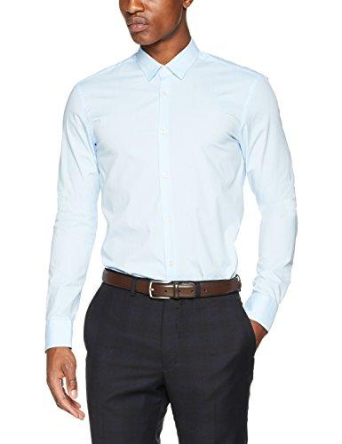 Scotch & Soda Herren Freizeithemd NOS-Classic Longsleeve Shirt in Crispy Qualit Blau (Blue 50)