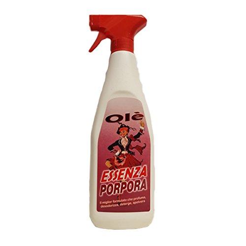 Olè Essenza Porpora profumata spray desodorizzante detergente antistatico - 1 pz da 750 m