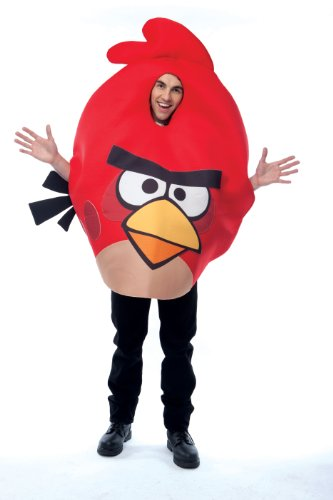 Papier Magie 211330 Rovio Angry Birds - Red Angry Bird Kost-m - Rot - One-Size - Norm