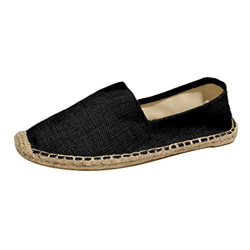Sommer Low Canvas Fischer Schuhe Casual Breathable Faule Schuhe Mode Einfarbig Tuch Schuhe Größe Ist Kleiner Als Die Tatsächliche Anzahl Von Größen Fischer-slip-ons