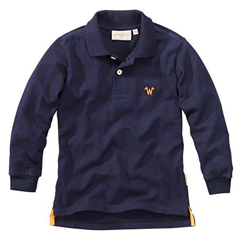 wellyou Polo-Shirt langarm marine Jungen