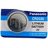 Panasonic CR2330 Pile bouton Lithium 3V Lot de 5