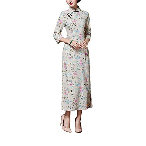 Elegantes orientalisches Cheongsam Qipao chinesisches Art-Kostüm-Kleider, ()