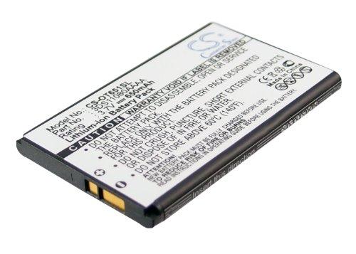 Cameron Sino Rechargeble Batería para Alcatel OT-E100