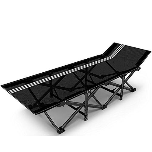 Klappstuhl Camping Stühle Für Schwere Menschen Im Freien Garten Terrasse Rasen Stühle Metall Chaise Lounge Chair, 200 Kg (größe : Without - Lounge Terrasse Für Chaise Die