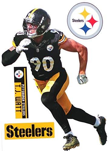 SP Images Inc. T.J. Watt Steelers Teamammate Wandaufkleber, 11 x 16 cm