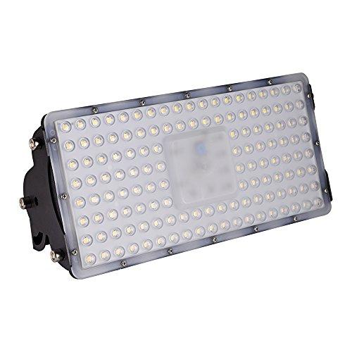 viugreum lampada led esterni - faretto a led da 100w impermeabile ip65, 9000lm led faro da esterni luce super illuminante bianco caldo modulo illuminazione led faretto da giardino