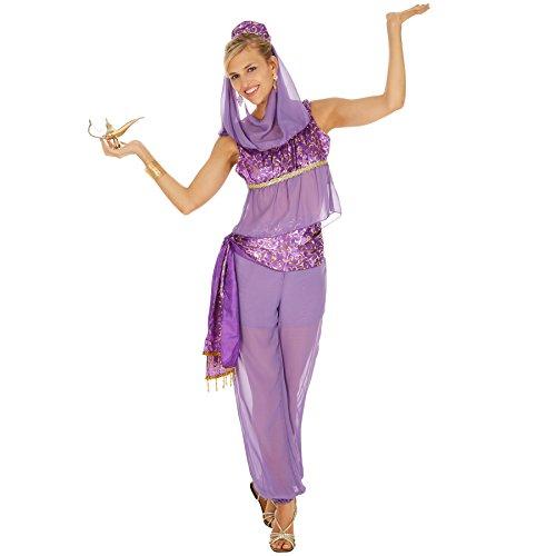 Frauen Kostüm 80's Ideen Für (Frauenkostüm zauberhafte Orient Lady | Orientalische Verkleidung | verspieltes Oberteil und Pump Hose | inkl. Kopfschmuck (M | Nr.)