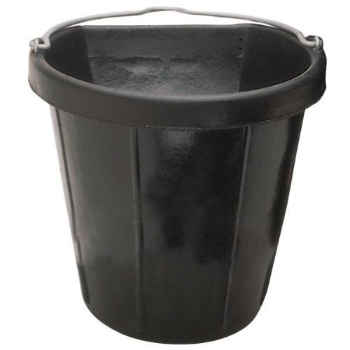 Artikelbild: Fortex Flat Side Feed Bucket for Horses, 18-Quart by Fortex