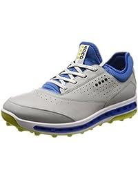 ECCO Cool Pro Zapatillas de Golf, Hombre, Blanco (Blanco 50758), 43 EU