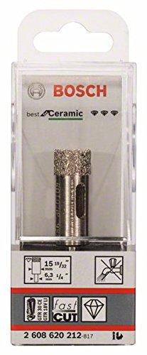 Bosch Professional Diamant-Bohrer trocken Best for Ceramic (Ø 15 mm) (Laufen Für Käse)