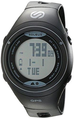 Soleus GPS-SG005-006-Hand mit Höhenmesser, Schwarz und Grau (Soleus-uhren)