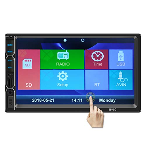 Fornateu 7inch HD 2DIN kapazitive Touch Screen Auto Stereo Radio AM FM USB-MP5 TelKonfig + Kamera