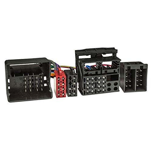 tomzz Audio 7304-001 T-Kabel ISO passend für BMW ab 2001 mit Quadlock zur Einspeisung von Freisprecheinrichtung ISO Verstärker für THB Parrot Dabendorf i-sotec Match