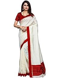 Applecreation Women's Bhagalpuri Silk Saree (printed Sarees_7PJ5004_FreeSize)