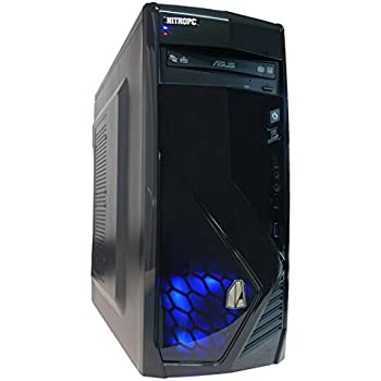 NITROPC - PC Gamer VX *OFERTA NAVIDAD* (CPU Quad-core 4 x 3,80Ghz, T. Gráfica R7 560 2GB GDDR5, Hdd 1TB, Ram 16GB, Windows 10 de 64 bits preliminar) + WIFI de regalo. pc gamer, pc gaming, pc para juegos, ordenador juegos