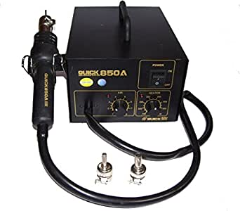Quick 850A+ Hot Air Gun Soldering SMD Rework Station