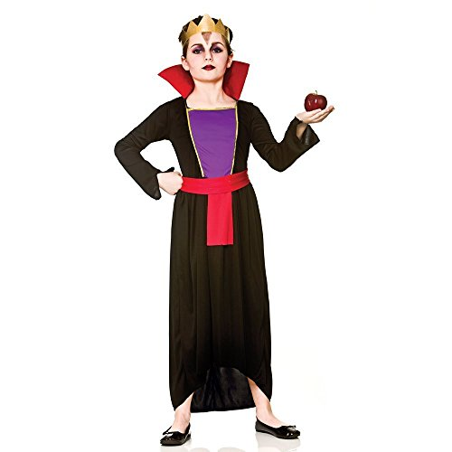 Girls Wicked Evil Queen Fancy Dress Costume (Large)