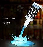 3D Nachtlichter 7 Farben Erstaunliche Optische Täuschung LED-Licht Barschrank Weinschrank Dekoration USB Touch-Schalter Pour Flasche Licht