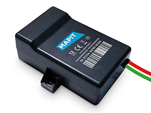 MAPIT CONNECT - Localizador GPS para motocicleta. Controla tu moto en todo momento a través de tu smartphone y recibe avisos si alguien la mueve. Requiere instalación en el sistema eléctrico de la motocicleta. Cobertura europea.