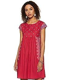 Amazon Brand - Myx Cotton Shift Dress