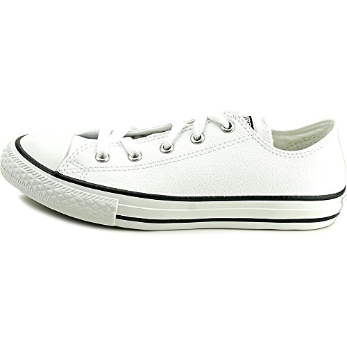 Converse Kids Chuck Taylor All Star Ox Canvas Trainers White Leather