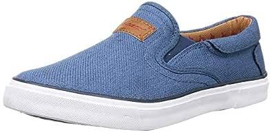 Sparx Men's Blue White Loafers-9 UK (43 1/3 EU) (SC0306G_BLWH0009)