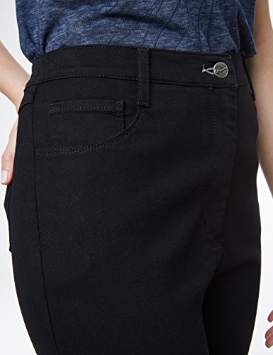 Pioneer Stefanie, Jeans a Gamba Dritta Donna Black (Black 11)