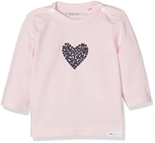 Noppies Baby-Mädchen G Tee ls Natick-67369 Langarmshirt, Rosa (Light Rose C092), 74