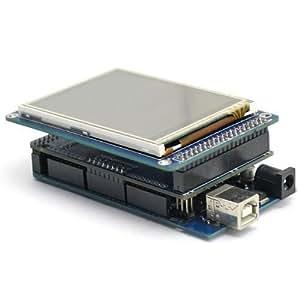 """SainSmart AVR Development Board For Arduino Mega 2560 ATMEGA 2560+3,2 """"TFT-LCD-Schirm + Touch Screen Reader For SD Arduino 2560"""
