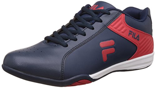 Fila Men's Ignatz Navy and Red Sneakers - 8 UK/India (42 EU)