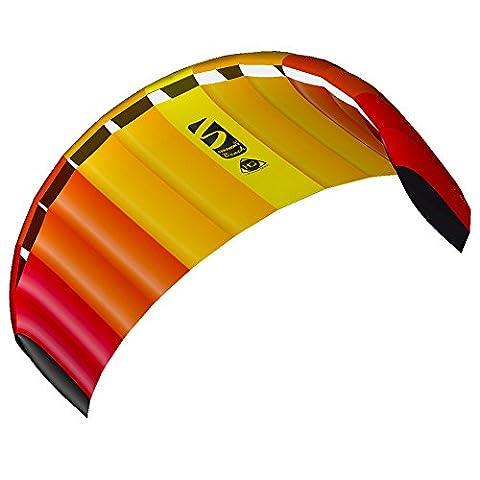 HQ Powerkites Symphony Beach III 2.2 Aile de kitesurf Mango