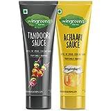 Wingreens Farms Tandoori Mayonnaise, 100g with Achaari Mayonnaise, 100g