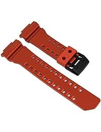 Casio G-Shock Ersatzband Uhrenarmband Resin Band Orange für GBA-400 10488594