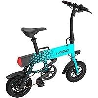 Adulto Que Dobla La Bicicleta Eléctrica 12 Pulgadas, Batería De Litio 36V Mini Vespa Eléctrica