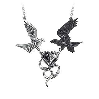 Alchemy Gothic Epiphany Of St. Corvus Necklace