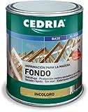 Imprimación Fondo Bloquea Taninos Cedria Maderas frondosas- Roble (750 ml)
