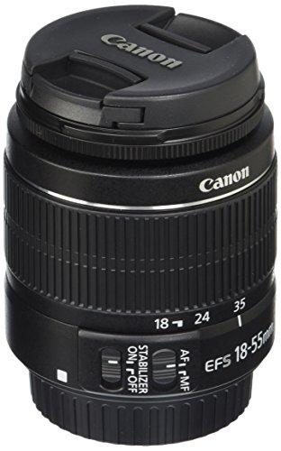 Canon EF-S 18-55mm f/3.5-5.6 IS II Black - Camera Lenses (11/9, 0.25 m, 3.5-5.6, 18-55 mm, SLR, Black)